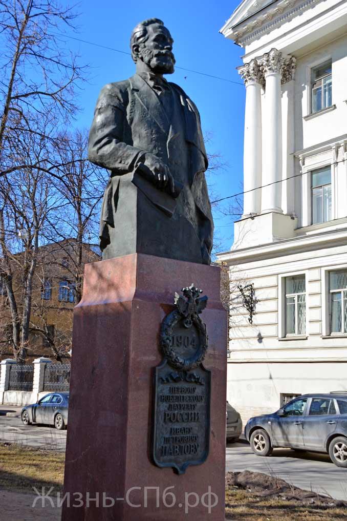 Памятник Ивану Петровичу Павлову в Петербурге