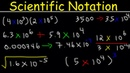 Scientific Notation Introduction Multiplication and Division Adding Subtracting Decimal Stand