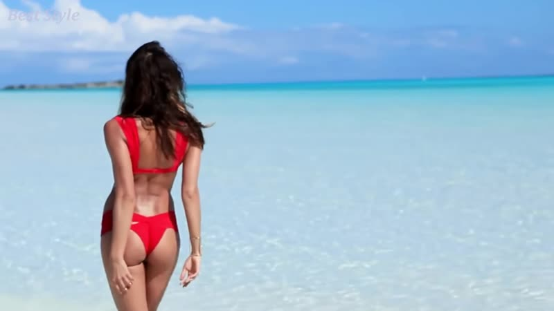 Irina Shayk is a charming model featuring a collection of swimsuits. - Best Style(Remix) 4K (UHD)