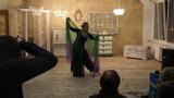 Tina Advena as Hungarian Horntail dragon @