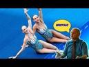 Дагестанский комментатор Синхронное плавание Олимпиада 2008г