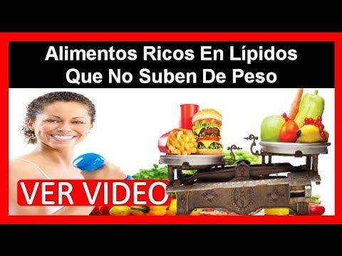 Alimentos Ricos En Lipidos Que No Suben De Peso