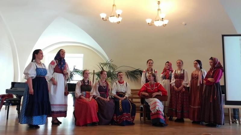 фольклорный ансамбль СПб консерватории