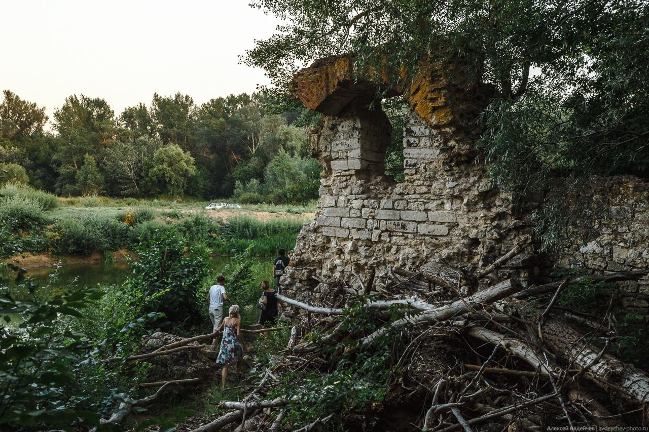 Старая водяная мельница в селе Богатое (Богатовский район, Самарская область)