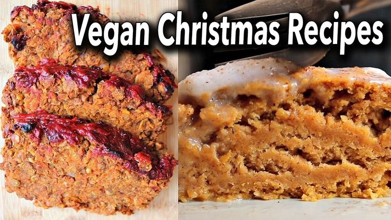 VEGAN CHRISTMAS RECIPES (MAIN DESSERT)