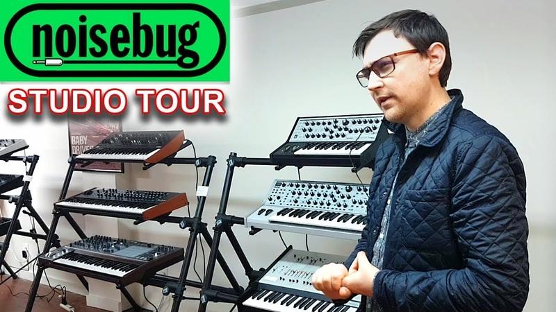 NOISEBUG   Store Synth Studio Tour - Pomona, CA