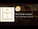 Warchal Amber Viola Strings review