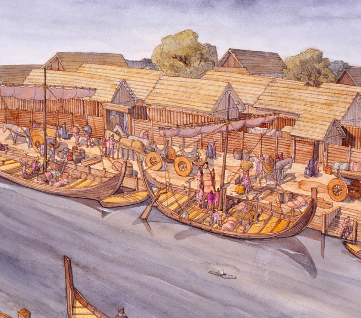 Жизнь викингов в картинках удаления