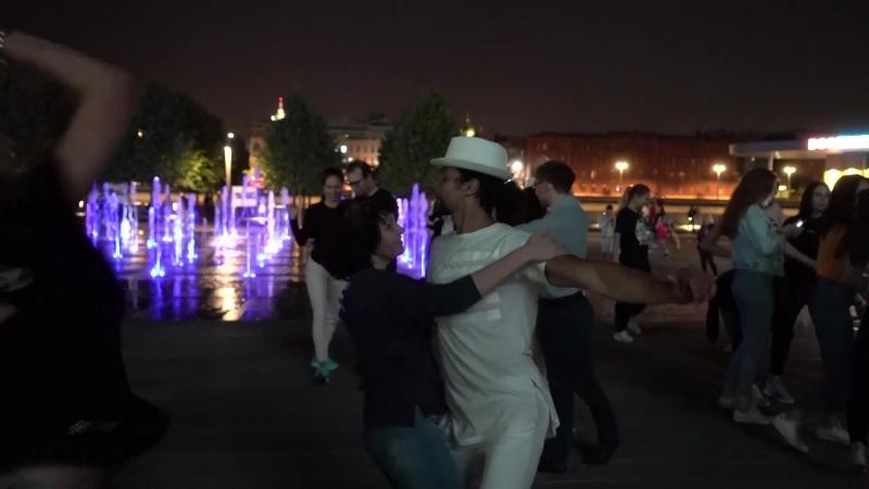 Леандро Де Оливейра и Екатерина Ярощук, опен, Музеон 25.08.2018