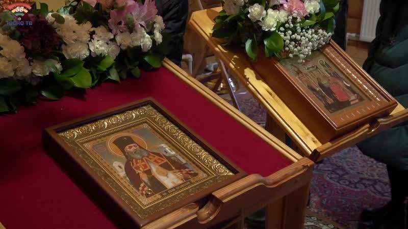 Икона святителя Луки Крымского с частицей его мощей прибыла в Храм Петра и Февронии Муромских г.Тосно