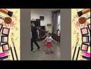 Прекрасное Трио Папа зажигает с дочками