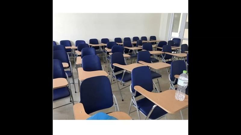Ghế gấp liền bàn cho các trung tâm dậy học giá 260k tại nội thất Đăng Khoa