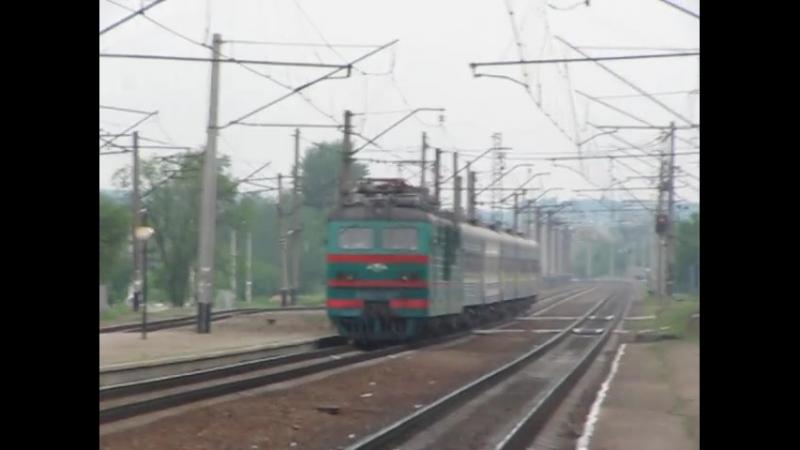 ВЛ82М-067 з потягом № 8 Одесса-Харків Харківська область → перегін Люботин - Нова Баварія