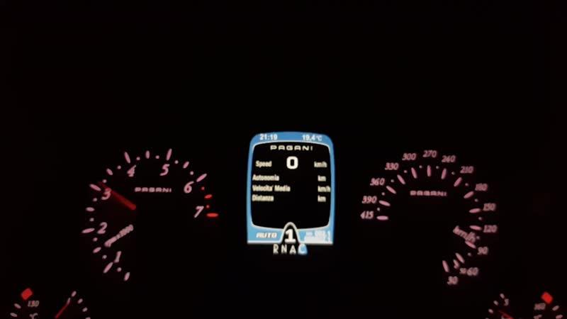 Pagani Huayra BC. TOP SPEED RUN