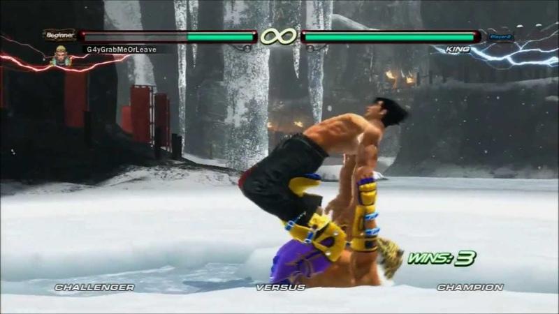 Tekken 6 King bridge on some male characters Gyaku Ryona Male on male gay oriented