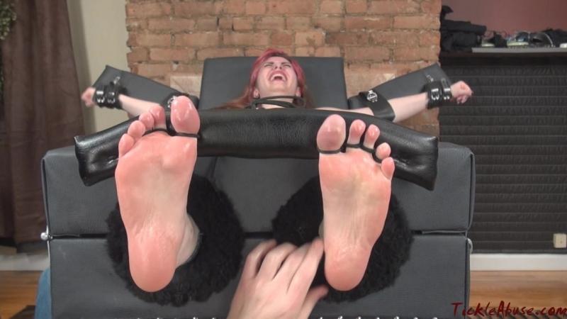 Crazy Ticklish Anna