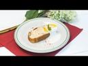 Йогуртовый кекс с жареными бананами и чёрный чай с барбарисом и апельсином Дежурный по кухне