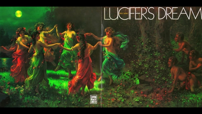 Ralf Nowy Lucifer's Dream 1973 vinyl record