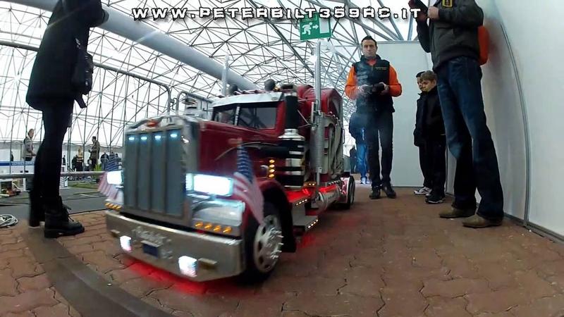 ModelTruck Peterbilt 359 RC Hobby Model Expo