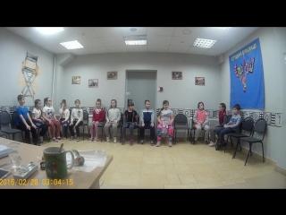 Мастер-класс от Марины Богатовой группа №5