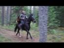 сяду я верхом на коня..))