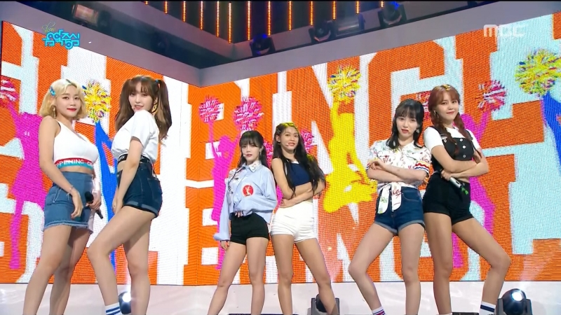 AOA - Bingle Bangle Ending (Music Core 2018.06.16)