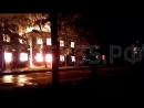 Общежитие выгорело до основания ночной пожар в Соколе