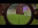 Хедшот через траву