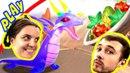БолтушкА и ПРоХоДиМеЦ Вернулись в ДРАКОНОЛАНДИЮ 47 Игра для Детей Легенды Дракономании