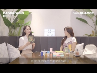 · Interview · 180916 · OH MY GIRL (Hyojung & Jiho) · GlanceTV