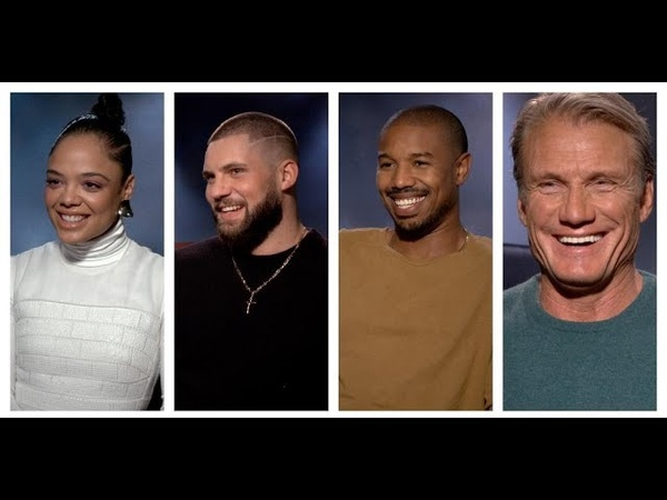 CREED 2 Interviews Michael B Jordan Dolph Lundgren Florian Munteanu and Tessa Thompson