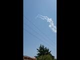 ЦАХАЛ сбивает сирийский самолет