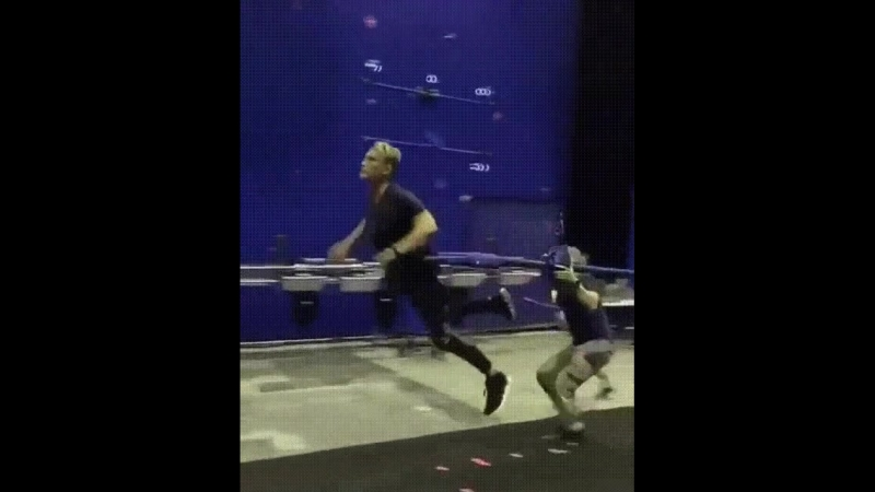 Дольф Лундгрен на съёмках фильма «Аквамен»