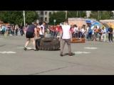 Наш инструктор спорт-клуба SV-GYM Андрей Мелкозеров принял участие на дне города Нижний-Тагил в соревнованиях по силовому экстри