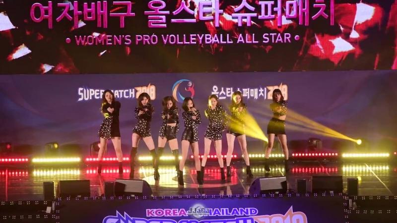 [4K] 180408 씨엘씨 전체 직캠 (CLC) -도깨비 (Fancam) By.JJaGa !한국 태국 문화교류 콘서트