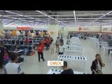 Открытие самого большого ДНС в мире. ТК Континент Омск