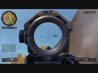 My dad always told me to lead the target. Black Ops 4