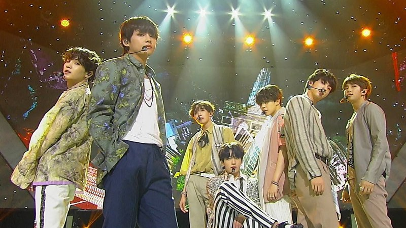 《Comeback Special》 BTS 방탄소년단 Airplane pt 2 @인기가요 Inkigayo 20180527