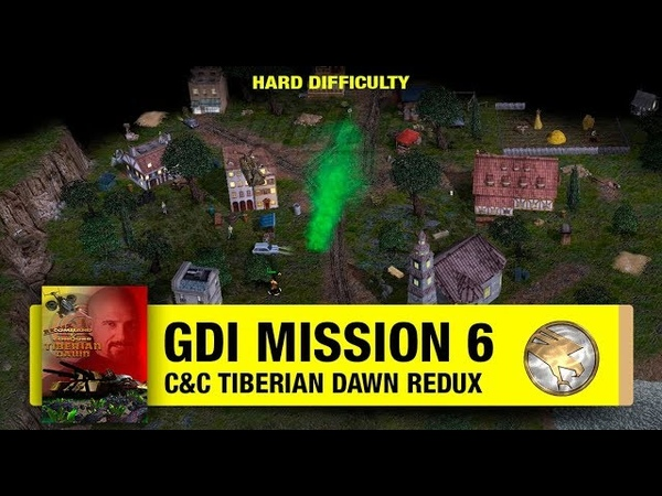 Command Conquer Tiberian Dawn Redux - GDI Mission 6 - Infiltrate Nod Base [1080p]