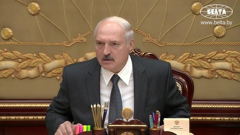 Лукашенко рассказал о задержании нелегального арсенала