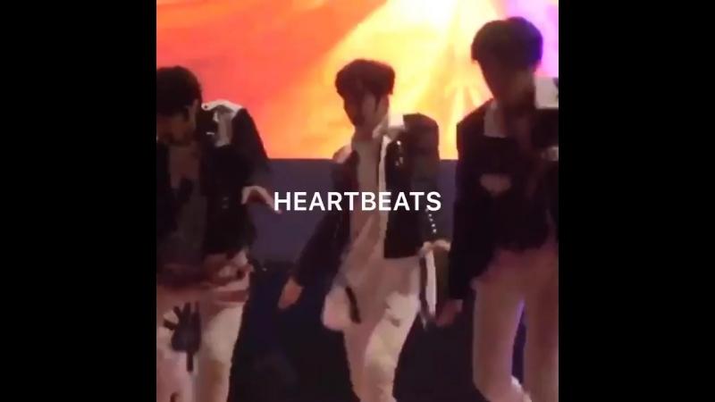 [фанкам] 180523 Выступление Stray Kids с District 9 (фокус на Сынмина) @ 37th Woonhyun Music Festival