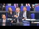 AfD-Fraktion im Deutschen Bundestag - Nicole Höchst Frage zum Global Compact for Migration _ Facebook [HD]