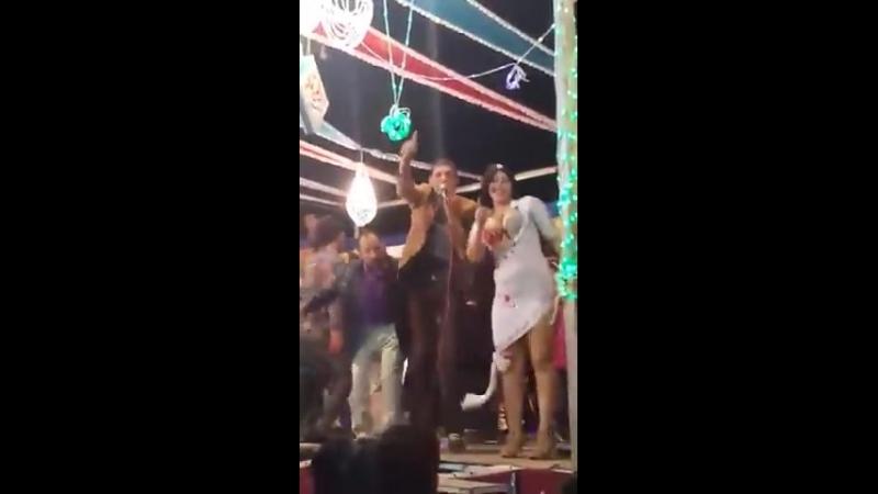 رانيا ترقص والموسيقار دشا الحلو من مهرجان الزهايره