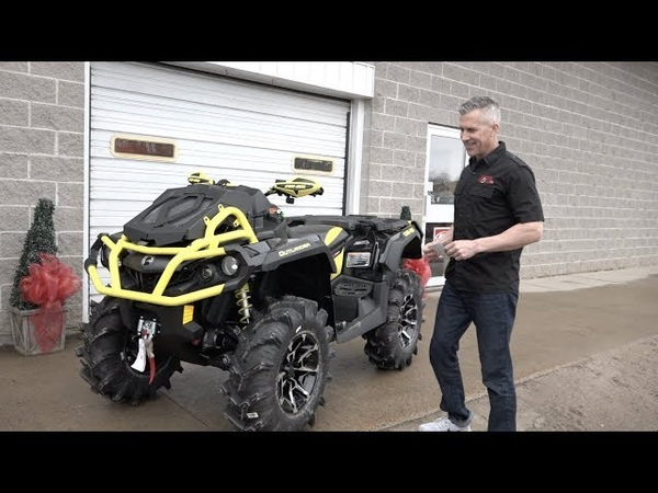 CAN AM XMR 1000 PICK UP FROM THE DEALER