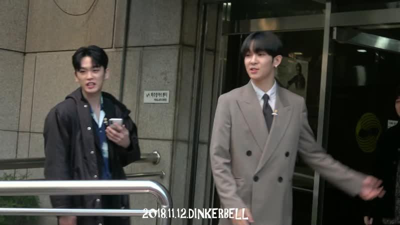 MC딩동 불후의 명곡 출근길 남태현 만남 20181112