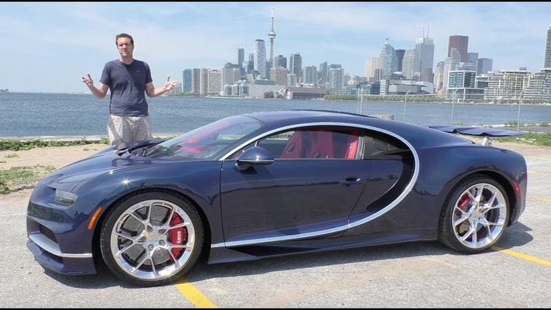Вот почему Bugatti Chiron стоит $3 миллиона
