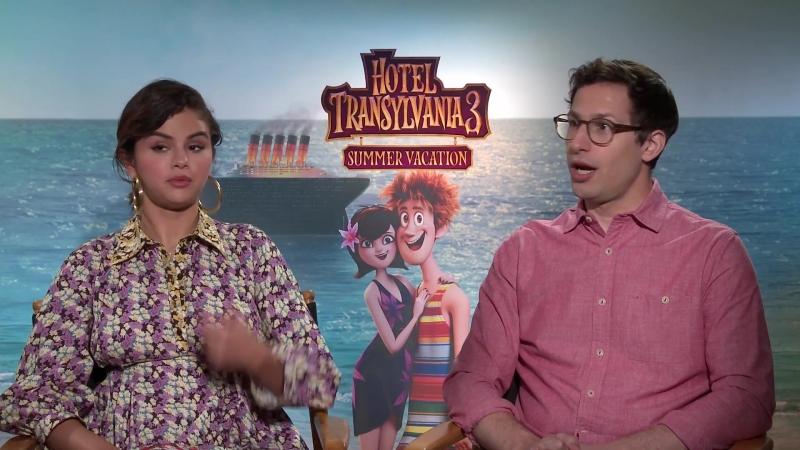 Интервью в рамках промоушена анимационного фильма «Монстры на каникулах 3» для «Regal Movies», Западный Голливуд (28 июня 2018)