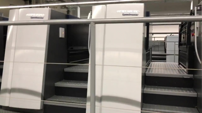 Heidelberg Speedmaster XL 106-8-P L 18k - Allaoui Graphic Machinery GmbH