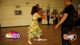 Anton Shcherbak and Elena Tohonovich Happy Birthday Dancing in 100th 2mambo social, Sun.13.05.2018