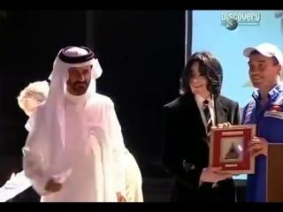 Michael Jackson In Bahrain on Rally Driver Mohammed bin Saleem 2005